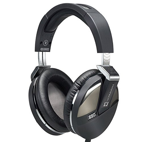 Ultrasone Performance 880 S-Logic Plus Surround Sound Professional Closed-back Headphones with 1 Year Free Extended Warranty