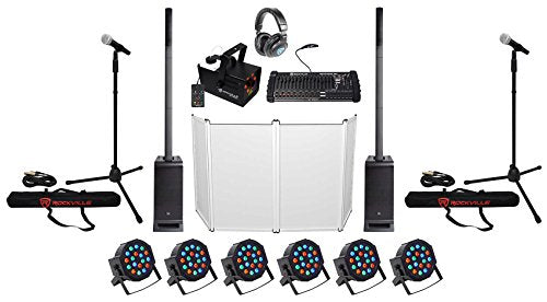 DJ Package w/(2) JBL EON ONE PRO Array Speakers+Subs+Facade+Fogger+Mics+Lights
