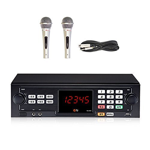 TJ Taijin Media TKR-355HK Home Party Korea Korean Karaoke Singing Machine 16GB HDD System + 2 Microphones /Follow-up TKR-304K