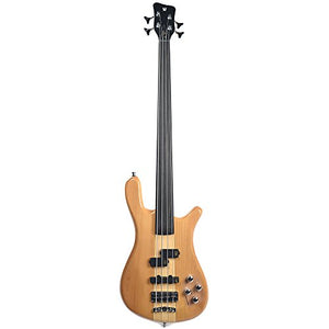 Warwick Rockbass Streamer Basic 4-String Fretless Active Natural High Polish