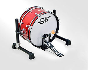 "Goedrum GBD18 18"" Electric Kick Drum or Electronic Bass Drum Color Red"