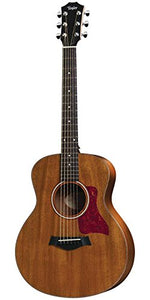 Taylor GS Mini Mahogany GS Mini Acoustic Guitar, Sapele, Mahogany Top