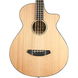 Breedlove Solo Jumbo Bass CE Red Cedar - Ovangkol Acoustic-Electric Bass Guitar