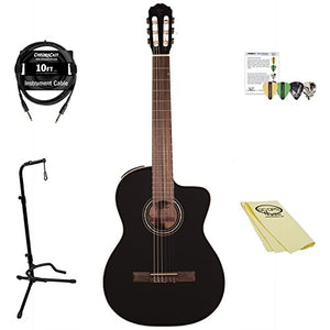 Takamine GC3CE BLK-KIT-2 Classical Guitar