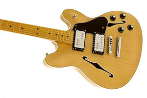 Fender Modern Player Starcaster, MN, Natural
