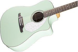 Sonoran SCE Surf Green Acoustic Electric Guitar w/ Gig Bag and Tuner
