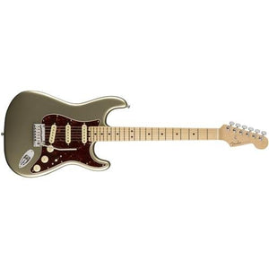 Fender American Elite Stratocaster Maple Fingerboard Electric Guitar Champagne