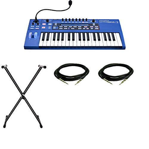 Novation UltraNova 37-Key Analog-Modeling Synthesizer with Cables and Keyboard Stand