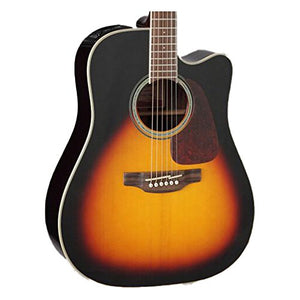 Takamine GD71CE BSB-KIT-2 Dreadnought Cutaway Acoustic-Electric Guitar, Sunburst