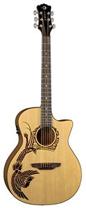 Luna OCL PHX2 Oracle Phoenix Next Generation Acoustic-Electric Guitar with Preamp