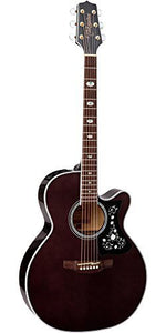 Takamine GN75CE TBK NEX Cutaway Acoustic-Electric Guitar, Transparent Black