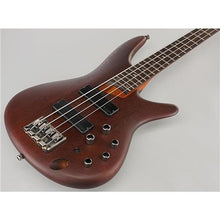 Ibanez SR500 Soundgear 4-String Electric Bass Guitar Brown Mahogany Maple Fretboard