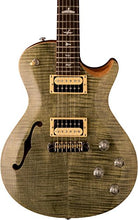 PRS ZM3TG SE Zach Myers Semi-Hollow Electric Guitar, Trampas Green