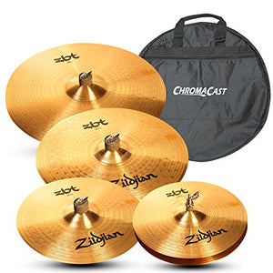 Zildjian ZBT 5 Piece Cymbal Pack with Zildjian Cymbal Bag
