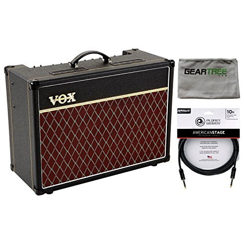 Vox AC15C1X AC15 Custom Series Guitar Combo Amp (with Blue Alnico Speaker) w/ Cl