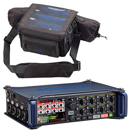 Zoom F8 MultiTrack Field Recorder & Custom Protective Case - Bundle