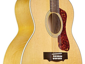 Guild F-2512E Acoustic-Electric Guitar in Natural