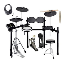 Yamaha DTX532K 5-Piece Electronic Drum Set with 50 Onboard Drum Kits, Training Functions, 3-zone Cymbal/Snare Pads, Hi-hat Stand, Rack System(Drum Pedal not included) with Drum Sticks, Throne, Headpho
