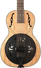 Washburn R360SMK Parlor Resonator Guitar with 1930's Style Inlay Level 1 Satin Natural