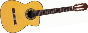 Takamine TH5C Classical Nylon String Acoustic Guitar with Hard Case