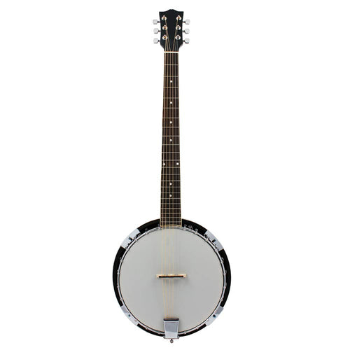 AYYNAM Banjo 6 String Sapele Body Fashion Style Professional Musical Instrument Suitable for Students and Stringed Instruments Teaching