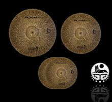 Agean Cymbals Natural R-Series Low Volume Cymbal Pack Box Set