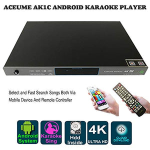 6TB HDD 109K Vietnmaese, English Songs,Android Karaoke Machine, Vietnamese Songs Player Cloud Download,Mobile Device Select Songs AK1C70