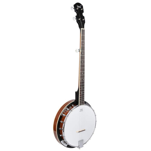 BLKykll 5 String Banjo Guitar Ukulele Mahogany Wood Musical Instruments Gifts for Beginner Lover Child Adult Banjo