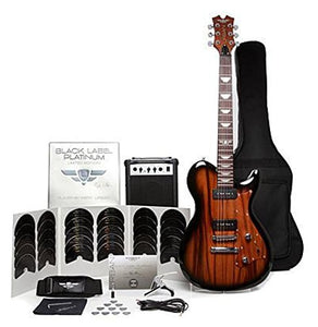 "Keith Urban ""Black Label Platinum"" Limited Edition 50-piece Guitar Package - Electric Solid Body - Raw Grain"