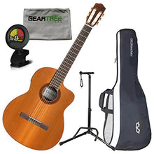 Cordoba C5-CE Electric Nylon String Guitar w/ Cloth, Stand, Tuner, and Gig Bag