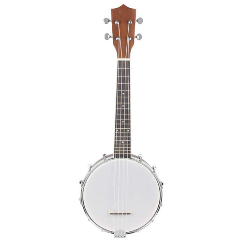 AYYNAM Banjo 4 String Sapele Body Rosewood Fingerboard Classic Style Professional Musical Instrument Suitable for Beginners to Practice