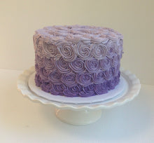 Load image into Gallery viewer, Ombre Rosette Cake