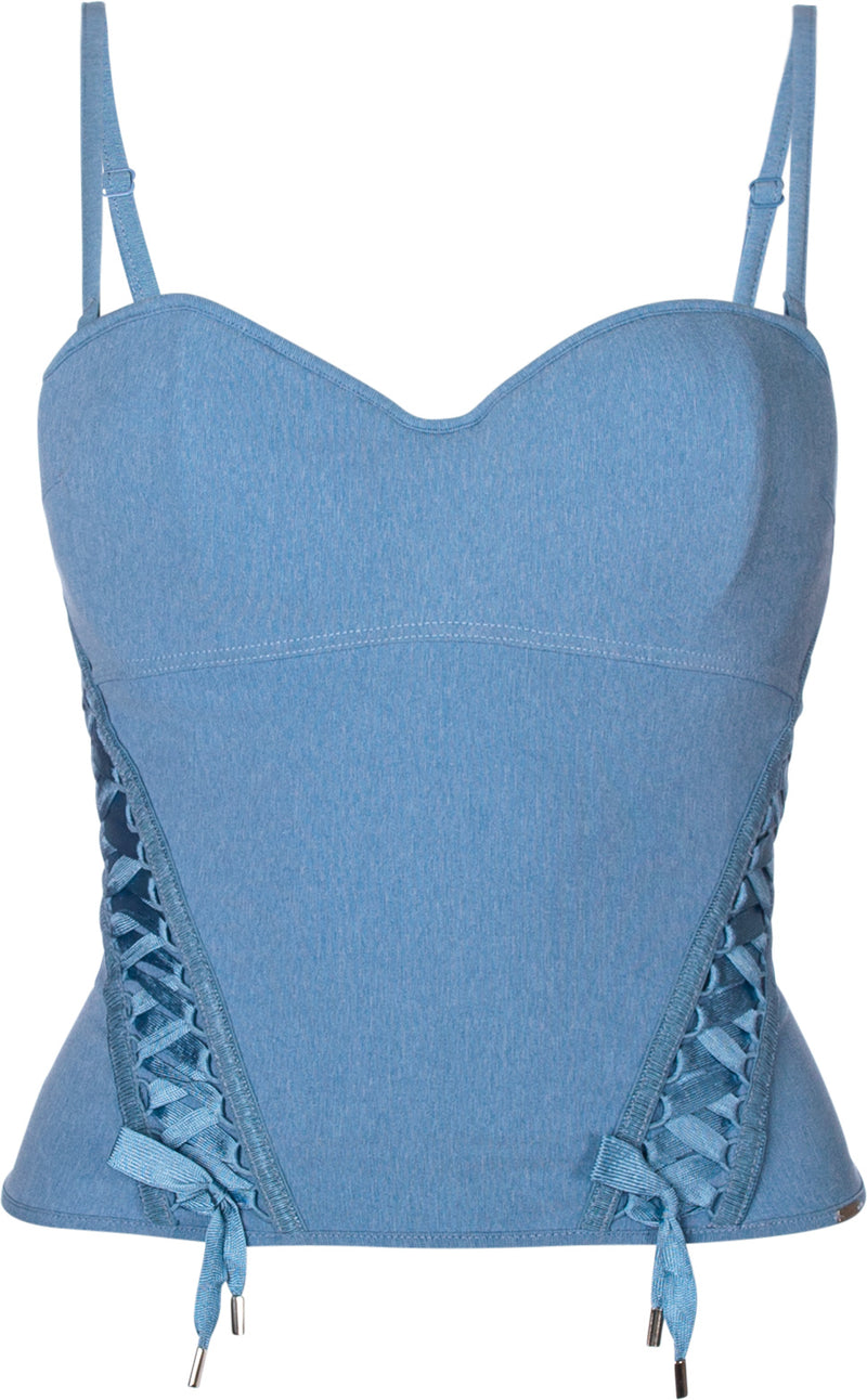 Christian Dior Lace Up Bustier