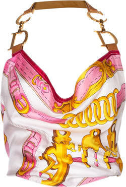 Christian Dior Spring 2000 Runway Saddle Halter Top