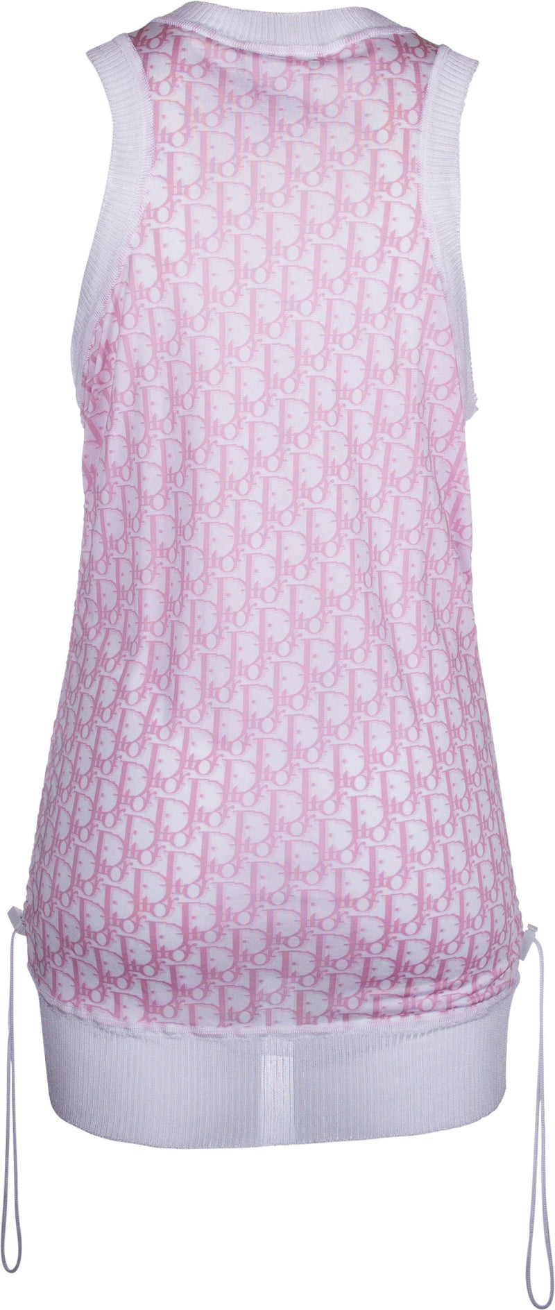 Christian Dior Diorissimo Girly Ruched Dress