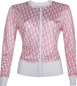 Christian Dior Diorissimo Girly Silk Jacket