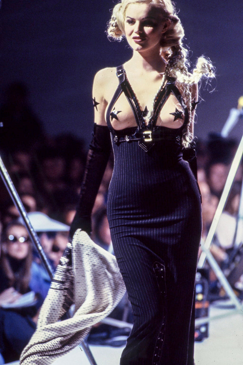 Jean Paul Gaultier Iconic Fall 1992 Runway Bondage Dress