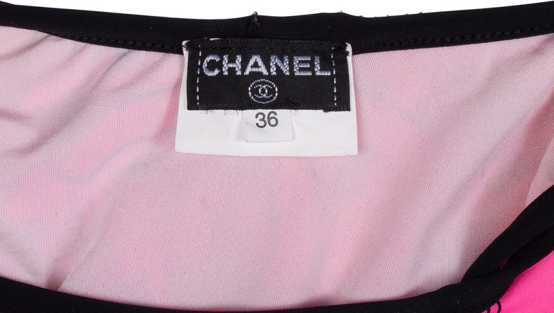 Chanel Hot Pink Bandana Bikini