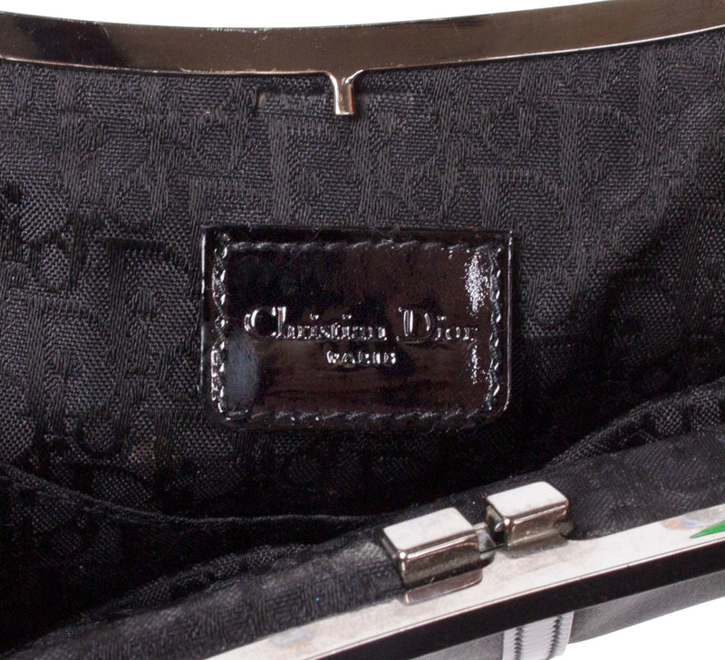 Christian Dior Mini Saddle Evening Bag