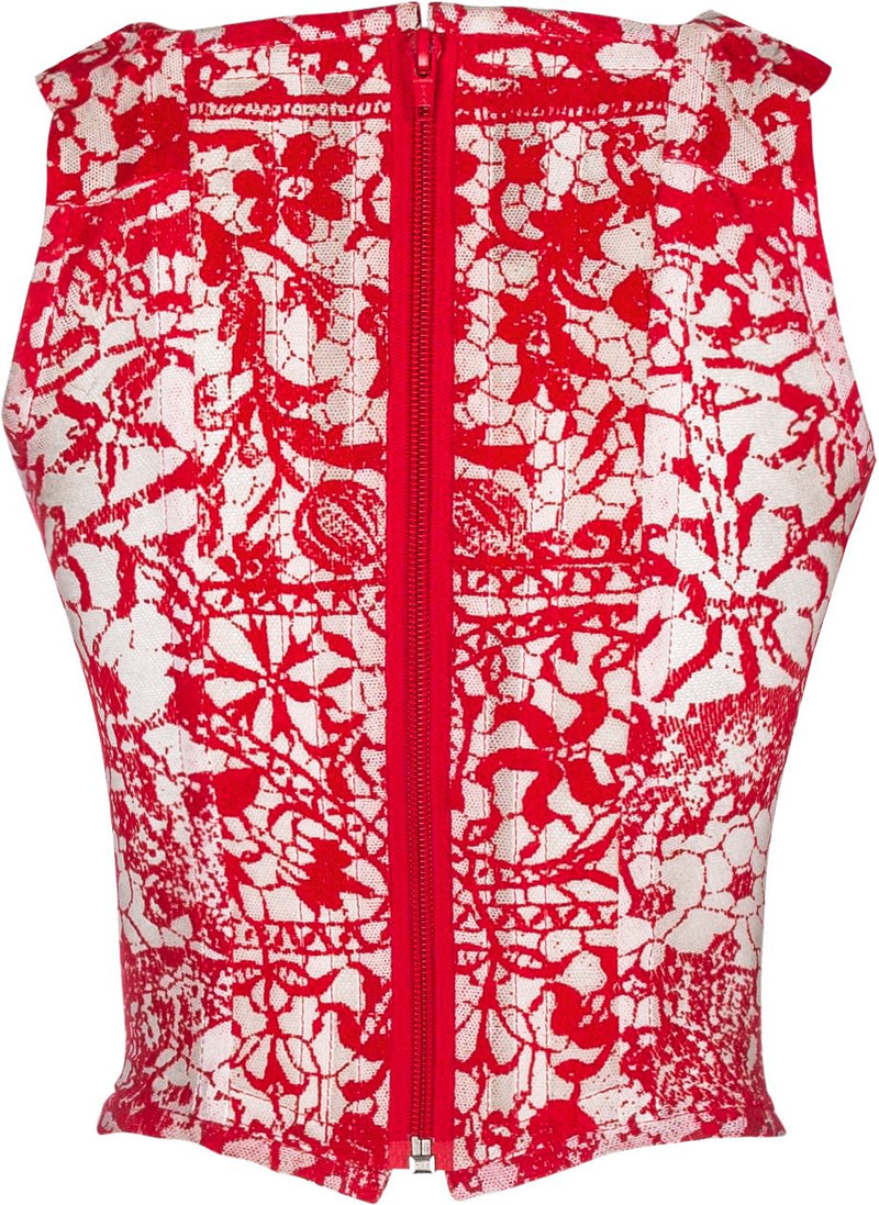 Vivienne Westwood Red Lace Corset