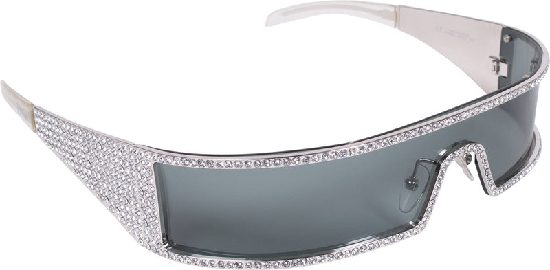 Christian Dior Swarovski Embellished Punk Sunglasses