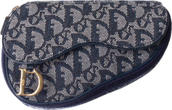 Christian Dior Mini Diorissimo Saddle Bag