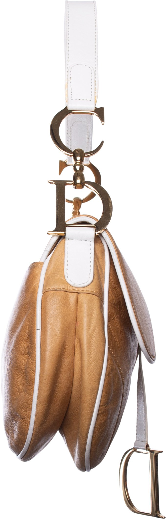 Christian Dior Spring 2000 Runway Leather Saddle Bag