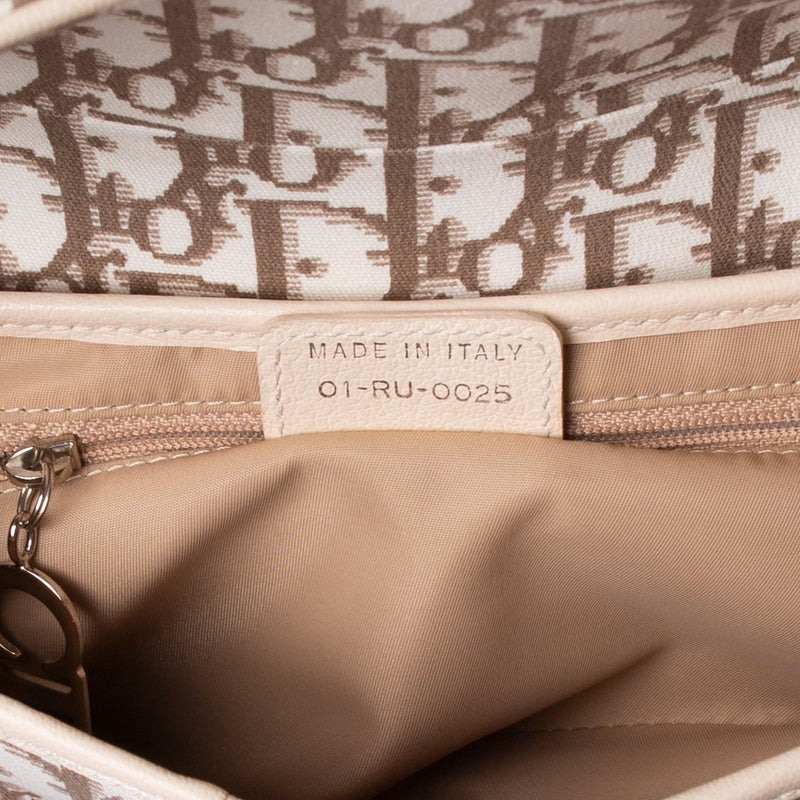 Christian Dior Diorissimo Spring 2005 Limited Edition Saddle Bag