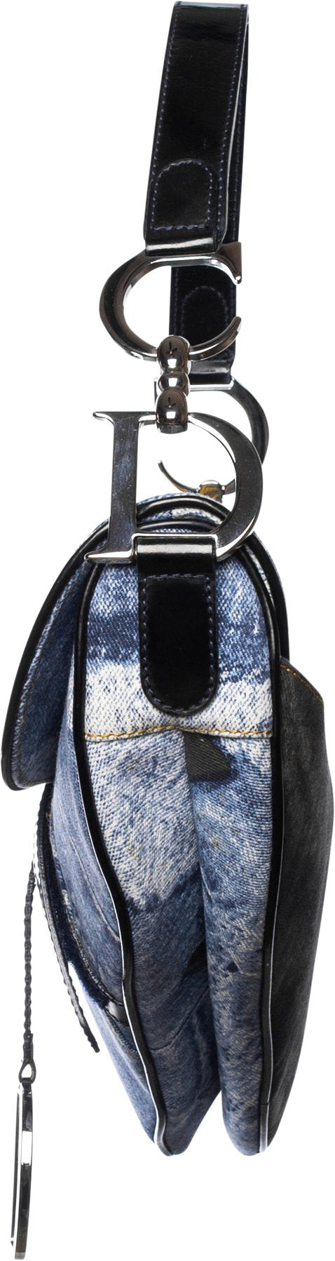 Christian Dior Miss Diorella Trompe L'oeil Limited Edition Saddle Bag