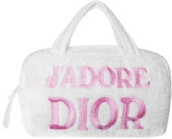 Christian Dior J'Adore Dior Terry Cloth Bag