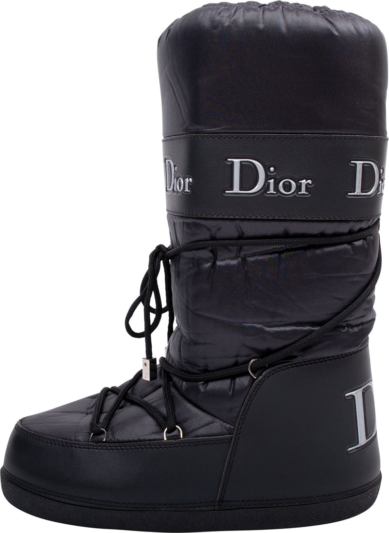 Christian Dior Black Moon Boots