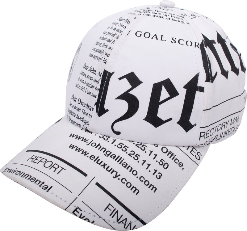 7a92c969329d9a John Galliano Gazette Newspaper Hat | EL CYCER