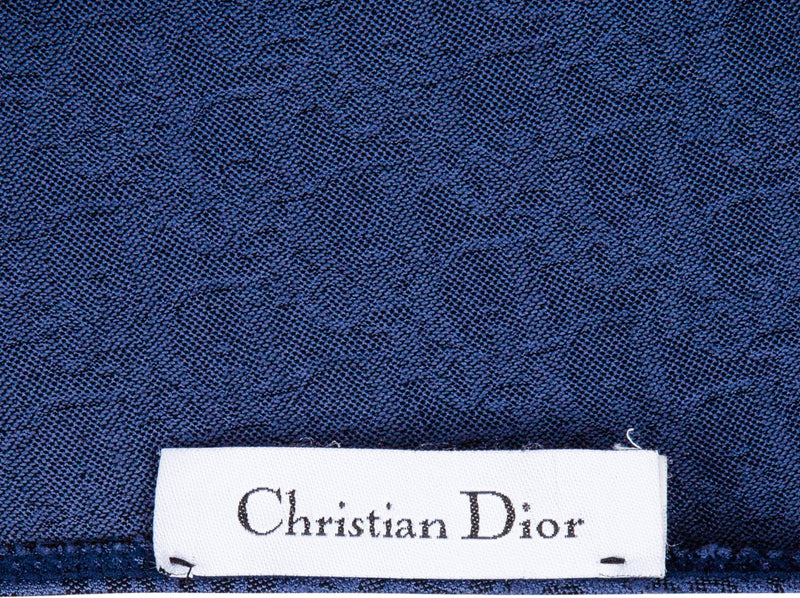 Christian Dior Blue Diorissimo One-Piece