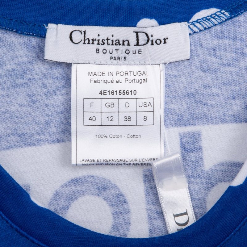 Christian Dior Surf Chick Sleeveless Lace-up Top